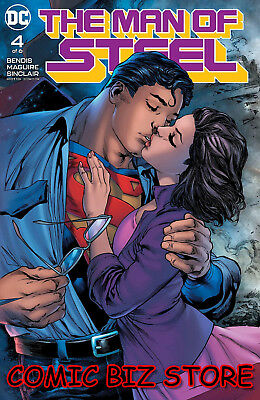 Man Of Steel #4 (Of 6) (2018) 1St Print Dc Universe Superman Bagged & Boarded