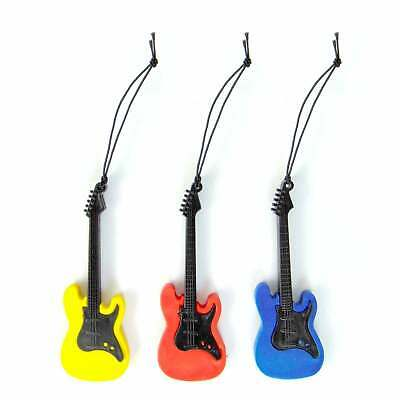 Guitar Novelty Hanging Car Auto Air Freshener Berries New Car Vanilla Scents