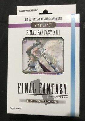 Final Fantasy Trading Card Game Deck Starter Set Final Fantasy XIII