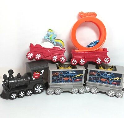 McDonalds Christmas train figure toy doll figurine Bulk Bundle