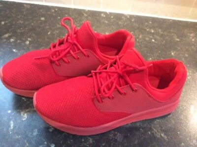PULL&BEAR - Men's Red Trainers