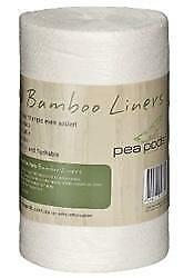 Pea Pods Bamboo Liners Roll of 100
