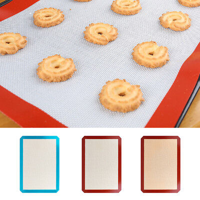Kitchen Non-Stick Silicone Baking Mat Dough Rolling Mat Cake Cookie Sheet Liner
