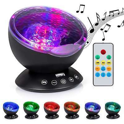 Baby Night Projector Starlight Ocean Wave Dreamshow Musical Light Cot Mobile Toy