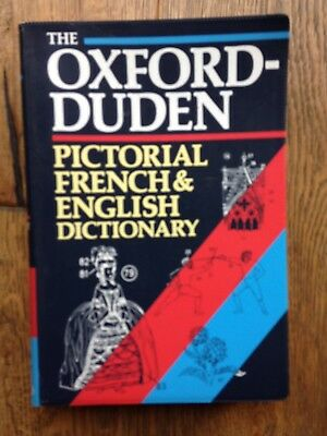 The Oxford-Duden Pictorial English Dictionary by O.M. Thomson (Paperback, 1984)