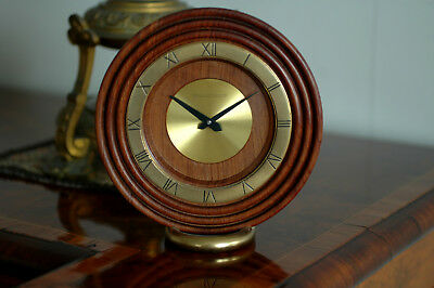 Rare Pendule De Table Jaeger Lecoultre 8 Day Art Deco Bauhaus Clock