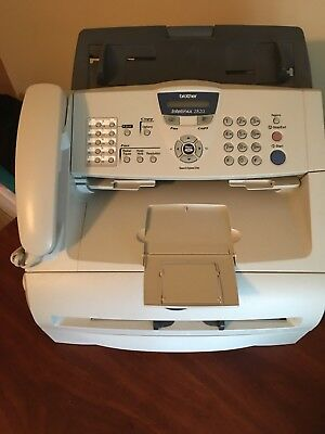 BROTHER IntelliFax-2820 Plain Paper Laser Printer, FAX,Copier, and Phone