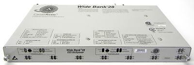 Carrier Access Wide Bank 28 DS3 Multiplexer with 8 DS1 and Controller widebank