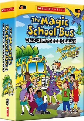 The Magic School Bus: The Complete Series - 8 DVD Free Shipping New/Sealed