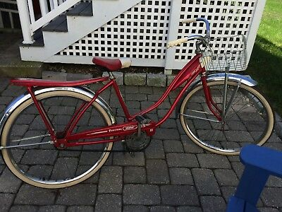 Vintage 1950s era Firestone 500 ladies bike-all original