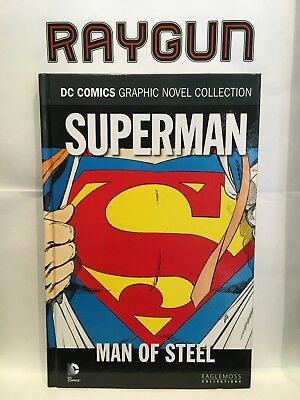DC Comic Graphic Novel Collection Vol 10 Superman Man of Steel