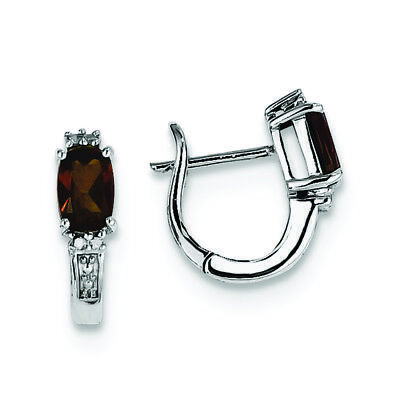 0.02 CTTW, I-J Color, I2 Clarity .925 Sterling Silver Genuine Diamond /& Aquamarine Earring Jackets
