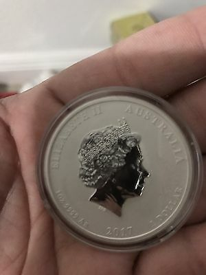 2017 Perth Mint Dragon And Pheonix Error Coin