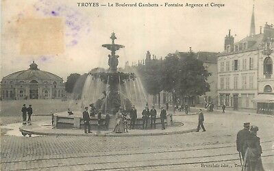 10 Troyes Boulevard Gambetta Fontaine Argence Et Cirque Animes