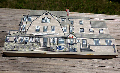 Cats Meow Village RARE 2002 Rockport, Maine Down East Magazine building