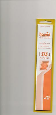 HAWID MOUNTS 27.5mm strips clear pack of 25