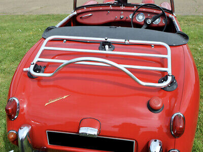 Healey Frogeye Sprite Luggage Rack ; No Clamps No Damage - Stainless Steel