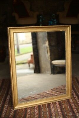 Large 19th Century Gilt French mirror