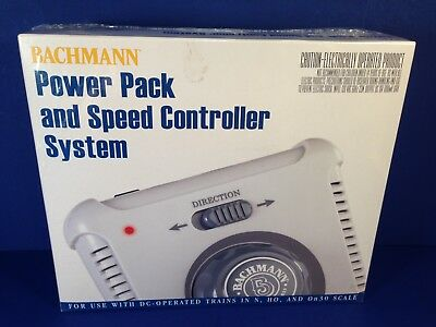 Bachmann POWER PACK AND SPEED CONTROLLER SYSTEM #44211 Brand New Sealed Box