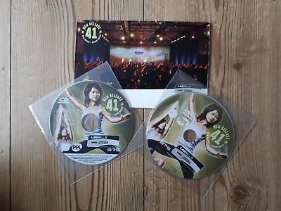 Les Mills Body Balance 41 CD and DVD with choreography notes