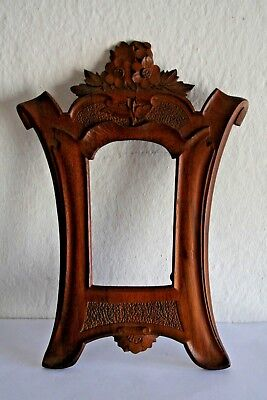 Antique Carved Wall Wooden Frame