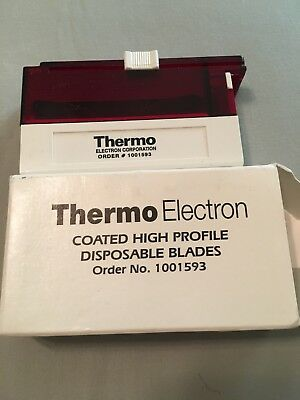 50 Thermo Electron Coated High Profile Disposable Microtome Blades