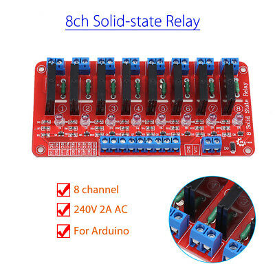 5V High Level Trigger Solid State Relay Board For Arduino 160mAh Electronic SSR