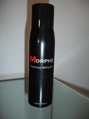 MORPHE CONTINUOUS SETTING MIST SPRAY - 82.8ml MAKE UP SETTING SPRAY FREE POSTAGE