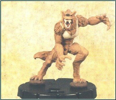 HorrorClix: She-Wolf - 083 [Figure with Card] Freakshow Miniatures HeroClix Comp