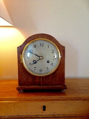 Antique German Striking Mantle Clock