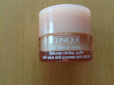 ★CLINIQUE★All about eyes Augencreme 5 ml★NEU