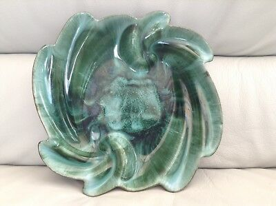 Blue Mountain Pottery- Vintage Large Green Bowl