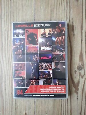 les mills body pump 84 CD and DVD with choreography notes