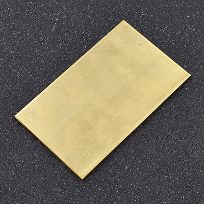 1pc Brass Metal Thin Sheet Plate  Welding Metalworking Craft DIY Tool 3mm