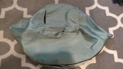 UPPAbaby Vista (2010) Replacement Sun Shade Canopy Fabric - Green / Carlin