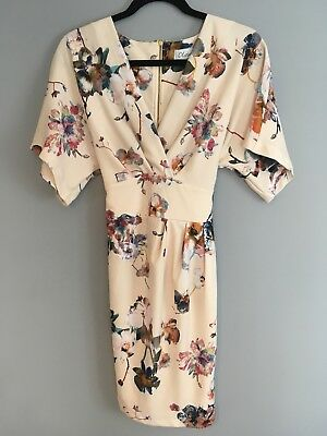 Closet Floral Kimono Dress Size 12 Holiday/Wedding Guest/Summer/Boho