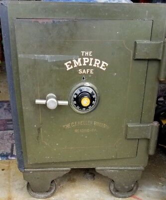 "Vintage ""The National Safe and Lock Company"" (The Empire Safe) PICK UP ONLY"