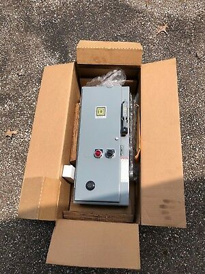 Schneider Electric Square D Box - Class 8538 Fused Combination Starter