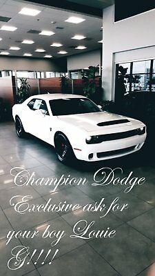 2018 Dodge Challenger DEMON 2018 dodge srt demon