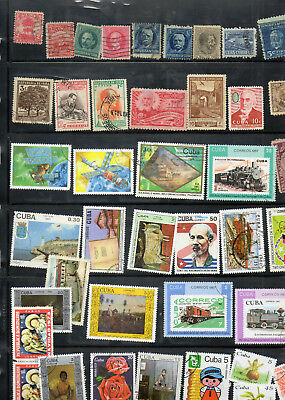 Stamps of Cub@, old to new, nice lot, good value.