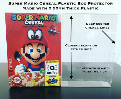 1 Box Protector .50mm Thick CIB SUPER MARIO ODYSSEY CEREAL LIMITED NINTENDO NES