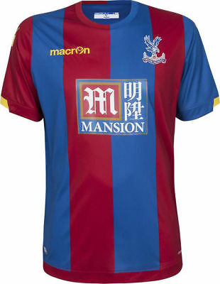 Crystal Palace Football Shirt Home Large Soccer Jersey Maglia 2015-16 *BNIB*