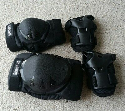 Skate Pads Knee Elbow and wrist hand guard combination. Rampage.