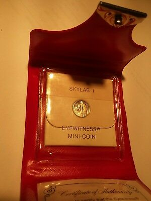 Franklin Mint - Sklylab I Eyewitness Mini Coin - 10Mm Platinum