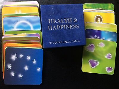"""""""HEALTH & HAPPINESS""""  - Titania's Spell Cards - Cards Only in Original Box"""