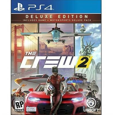 Ubisoft UBP30562118 The Crew 2 Deluxe Edition PS4