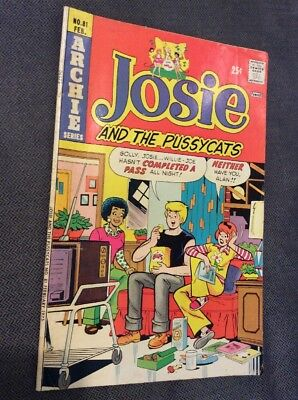 Josie And The Pussycats - No. 81 - Feb. 1974