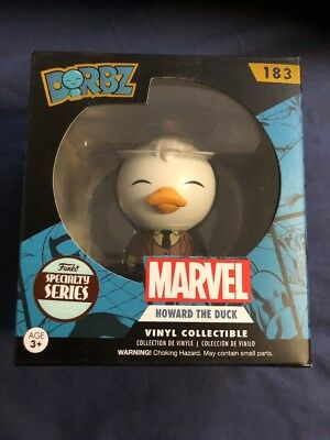 "Dorbz Marvel ""HOWARD THE DUCK"" 183 Specialty Series POP Figure Funko *NEW*"