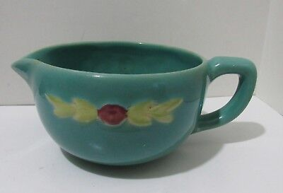 Vintage Coors Rosebud small batter bowl with handle