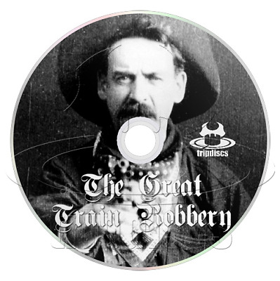 The Great Train Robbery (1903) Short, Action, Western Movie / Film on DVD